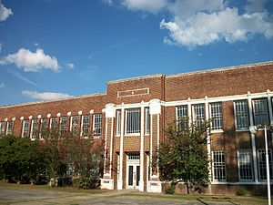 National Register of Historic Places listings in Madison County, Mississippi - Image: Canton High School, Canton, Mississippi