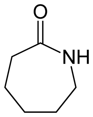Caprolactam - Image: Caprolactam 2D skeletal