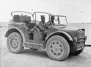 TL.37 - Indian troops drive a captured Fiat-SPA TL.37 (Dec. 1941)