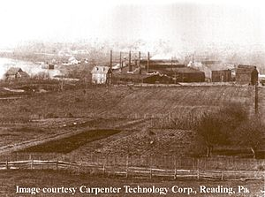 Carpenter Technology Corporation - Image: Car Tech 1893 Carpenter Steel Reading PA