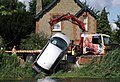 Car rescue at Houghton Mill - geograph.org.uk - 1420714.jpg