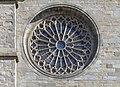 Carcassonne - Cathédrale St-Michel - Rosace de la façade.jpg