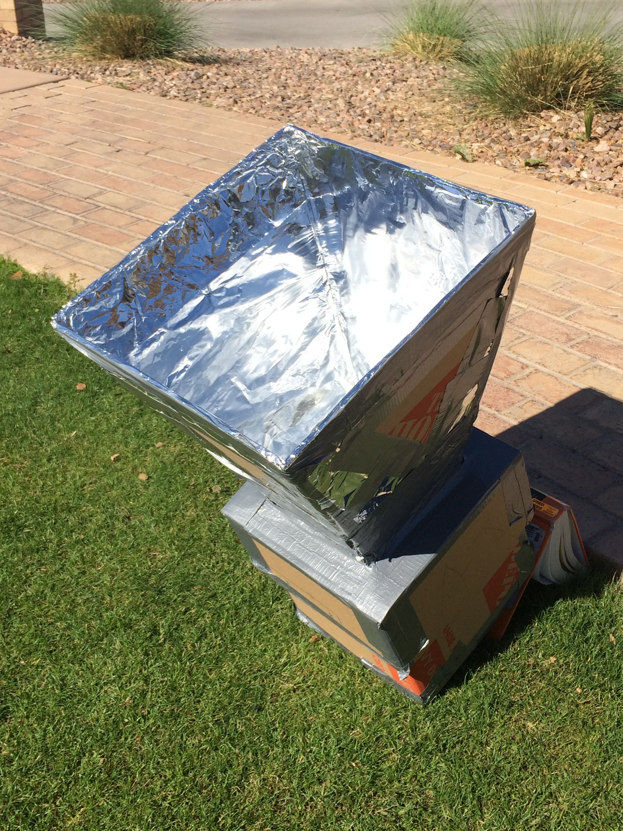 Solar Cooker Drawing For Kids