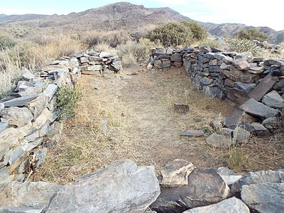 Hohokam fort known as Sears-Kay Ruin, built C. 1050 AD and located in the foothills of Carefree, Arizona. Carefree-Sears-Kay Ruin-Rooms.jpg