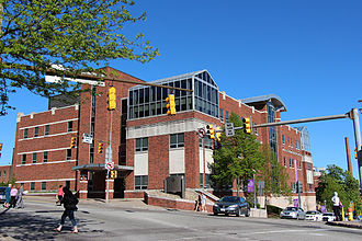 Carlow University - Carlow University A J Palumbo Hall of Science and Technology main entrance