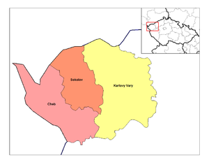 Districts of the Czech Republic - Districts of Karlovy Vary