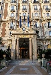 Intercontinental Carlton Cannes Wikip Dia