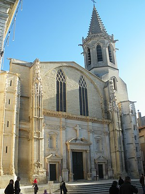 Ancient Diocese of Carpentras - Former Cathedral of Saint Siffrein, Carpentras