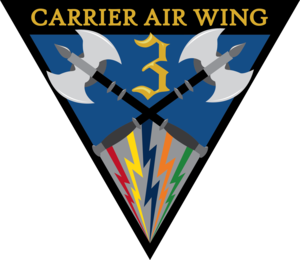 Carrier Air Wing Three - CVW-3 Insignia