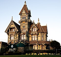The Carson Mansion Located In Eureka California Is Widely Considered To Be One Of Highest Executions American Queen Anne Style