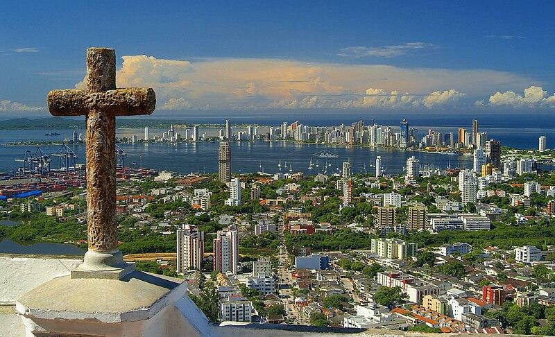 Lugares turísticos de Cartagena / Colômbia