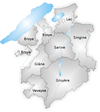 Districts fribourgeois