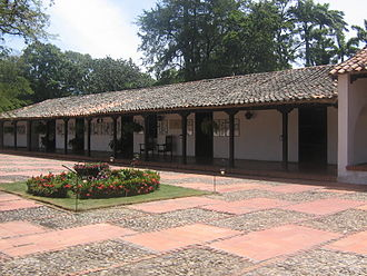 Francisco de Paula Santander - House of Francisco de Paula Santander