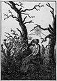 Caspar David Friedrich - The woman with the spider's web - British Museum.jpg