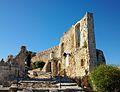 Castell de Xàtiva, primer pati de la seloquia.JPG