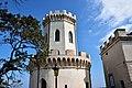 Castello Ducale di Corigliano, Torre Mastio (cortile interno).jpg