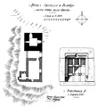 Castello di Blonay, pianta, fig 203, lug 1936, disegno nigra.tiff