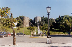 Castle of Vila Viçosa - View of one of the entrances of the Castle of Vila Viçosa