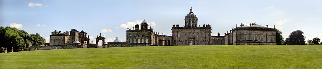 Fachada norte de Castle Howard