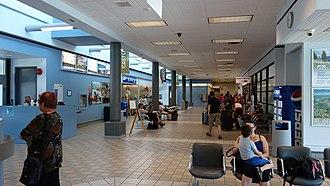 West Kootenay Regional Airport - Terminal interior