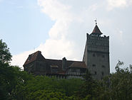 Castul Bran exterior view