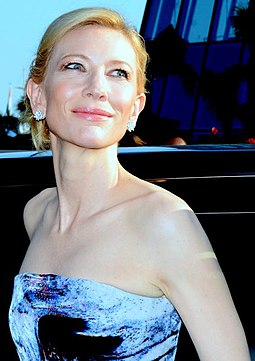 Blanchett attending the premiere of Carol at the 2015 Cannes Film Festival Cate Blanchett Cannes 2015 2.jpg