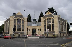 Cathays Library (2010), Cardiff