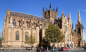 Image illustrative de l'article Cathédrale Sainte-Marie (Sydney)