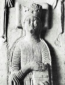 Catherine of Sweden (1244) effigy 1905.jpg