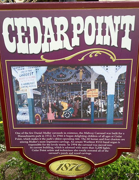 File:Cedar Point Midway Carousel historical marker (5567).jpg
