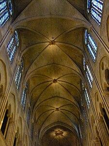 Ceiling, Notre Dame, Paris, ZM