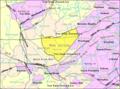 Census Bureau map of Warren Township, New Jersey.png