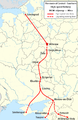 Central - Southern High-speed Railway plan en.png