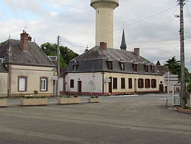 The centre of Saint-Agil