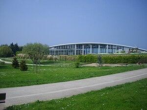 Le centre aquatique.