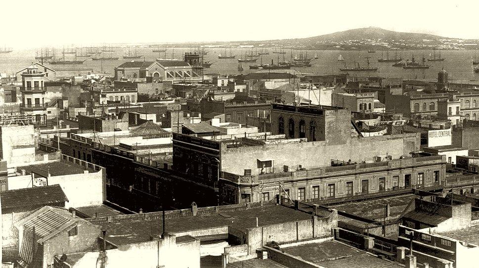 Cerro de Montevideo desde la ciudad. Año 1865 (no watermark)