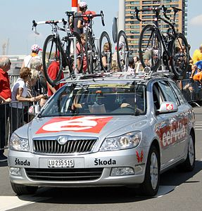 Cervélo Tour 2010 stage 1 start.jpg