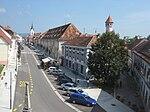 Vido de Brežice, la administra centro de la Municipo de Brežice