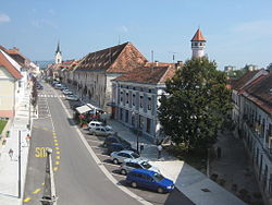 Main Street in Brežice