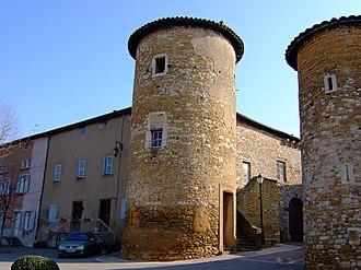 Lissieu - The château of the counts of Lissieu