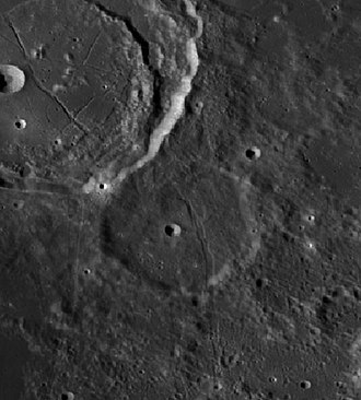 Chacornac (crater) - Image: Chacornac Cráter LROC