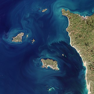 Channel Islands Archipelago in the English Channel
