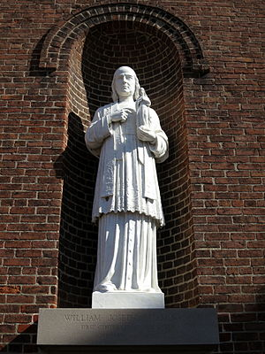 William Joseph Chaminade - A statue of Chaminade adorns the Chapel of the Immaculate Conception at the University of Dayton.