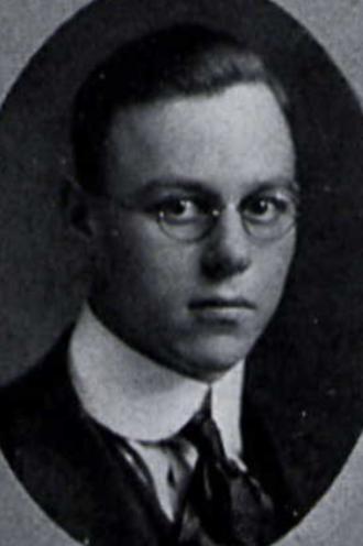 1917 College Football All-America Team - Charles Bolen.