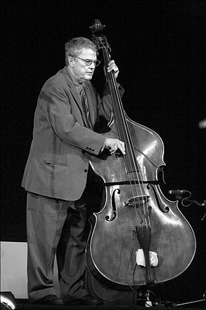 Grammy Award for Best Latin Jazz Album - Two-time award winner Charlie Haden, performing in 2007