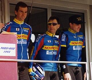 Marc Sergeant Belgian cyclist