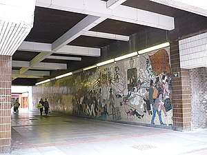 Chartist Mural - Image: Chartist mural, John Frost Square geograph.org.uk 678842