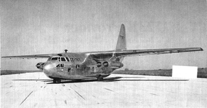 Chase XC-123A - The XC-123A