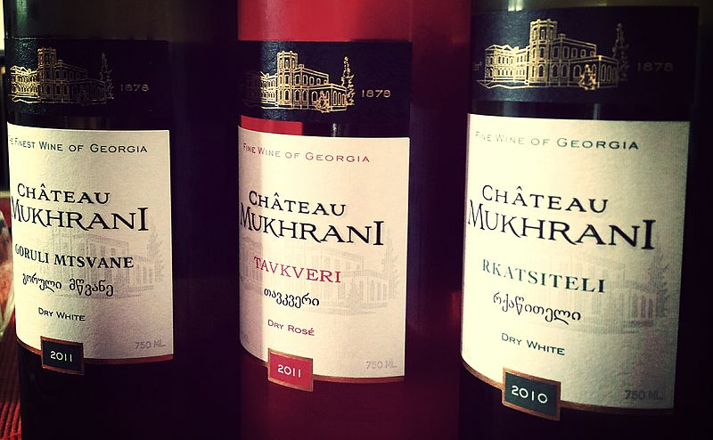 File:Chateau Mukhrani Georgian wine.jpg