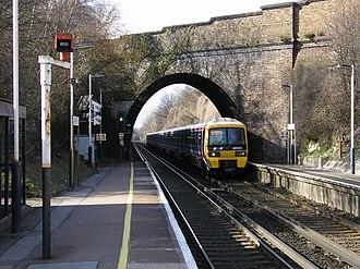 Chelsfield railway station - Image: Chelsfield Railway Station